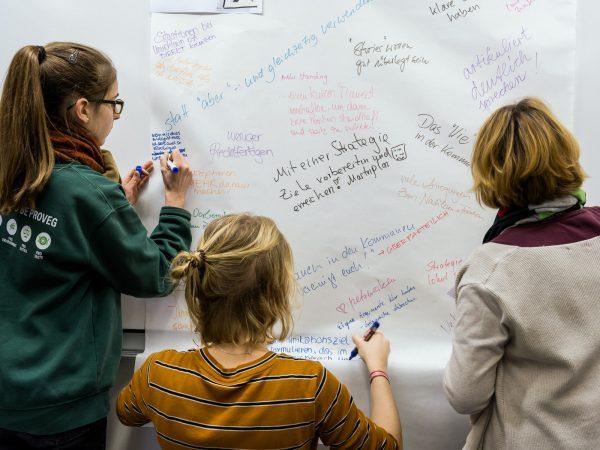 """Ein Jahr """"Brandenburg – ich misch' mich ein: Für mehr Frauen in der Politik"""" – ein Jahr Empowerment"""