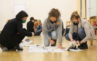 """Teilnehmerinnen der Workshopreihe """"Veränderung der Strukturen"""""""
