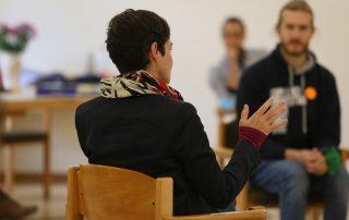 """TeilnehmerInnen bei der Workshopreihe """"Veränderung der Strukturen"""""""