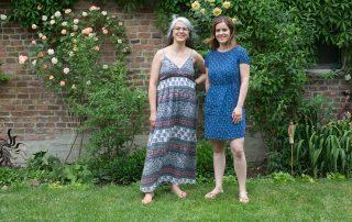 Mentoring Tandempaar Birgit Patz & Kathrin Neumann