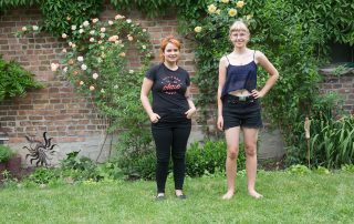 Mentoring Tandempaar Claudia Sprengel & Leonie Thormeier