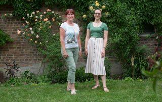 Mentoring Tandempaar Heike Swillus & Viktoria Matzen