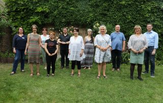 Gruppenbild des Mentoringtreffens im Sommer 2021